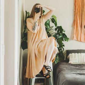 Elizabeth Suzann Harlow Silk Dress Home Dyed L